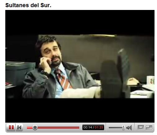 """Jordi Mollá en """"Los sultanes delsur"""""""