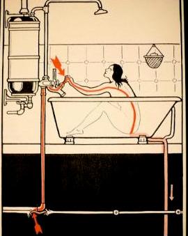 Un baño a la Virginia Woolf